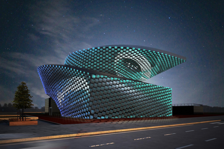Changxiang Sport Centre Studio Okular