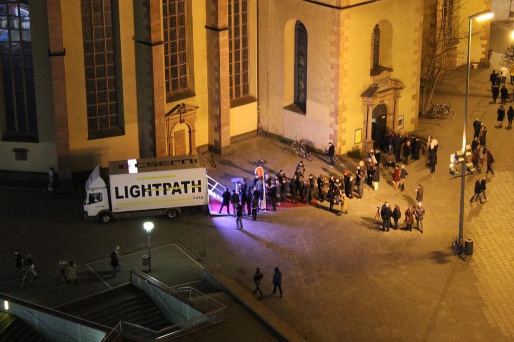 Light Path Hauptwache Frankfurt