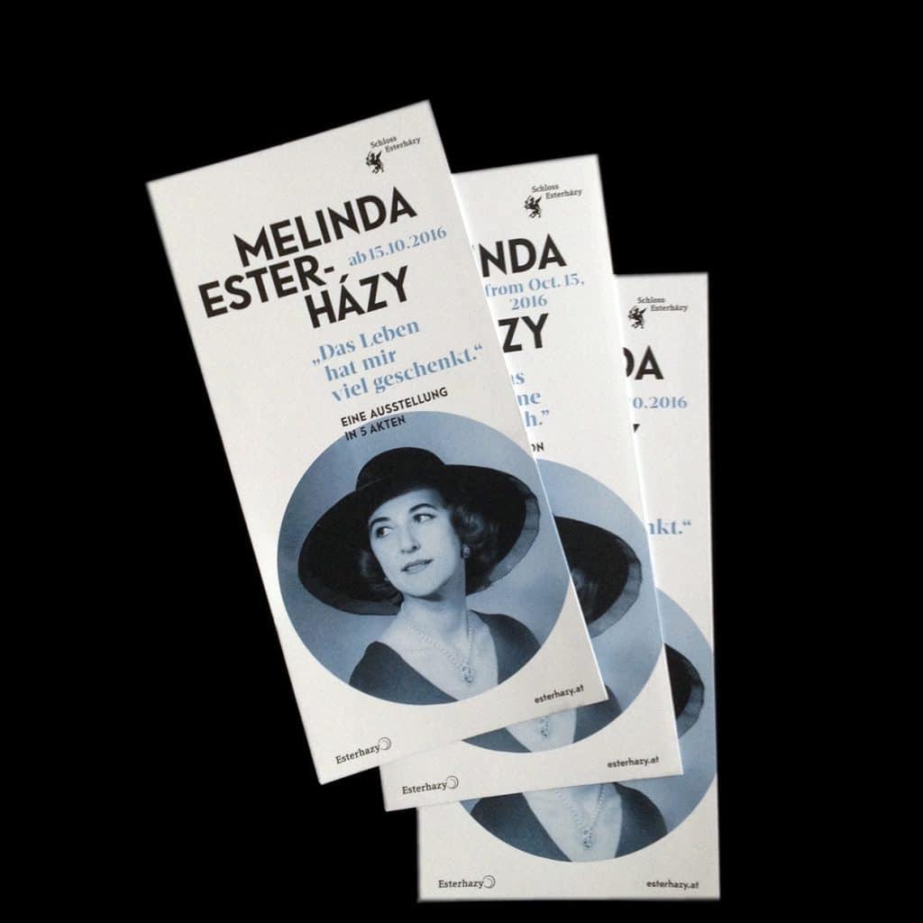 Melinda Esterhazy Studio Okular Flyer Büro Bauer